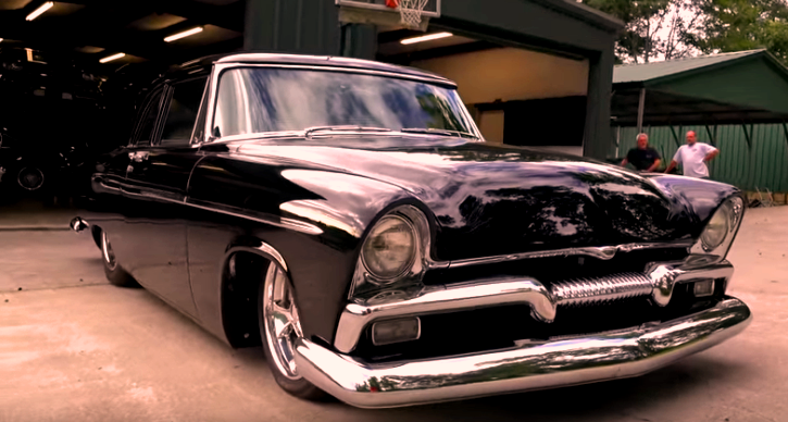 1955 plymouth savoy 509 hemi build