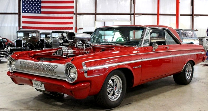 1964 dodge polara 500 restored