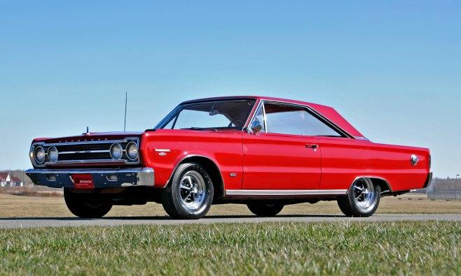 original 1967 plymouth hemi gtx 4-speed