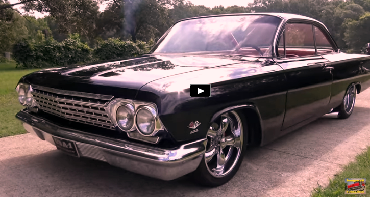 1962 chevy bel air bubble top hot rod