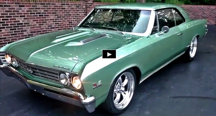 true 1967 chevy chevelle ss 396 restored