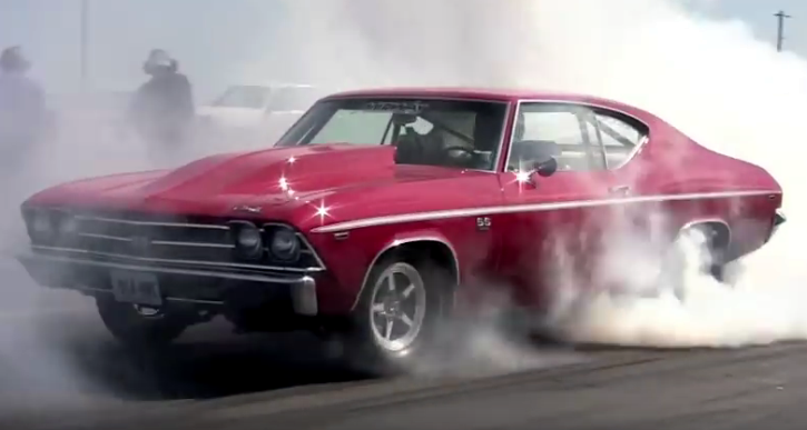 chevrolet chevelle 540 big block drag racing