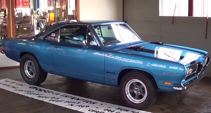 ball stud hemi powered 1969 plymouth barracuda drag car
