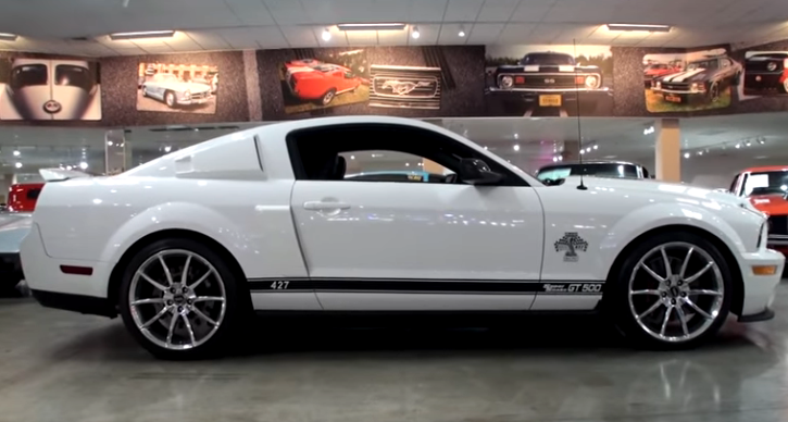 2007 shelby gt500 super snake 40th anniversary edition