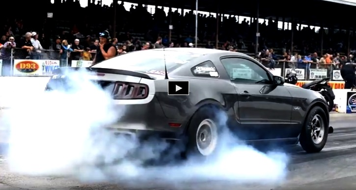 7 second turbo coyote mustang drag racing