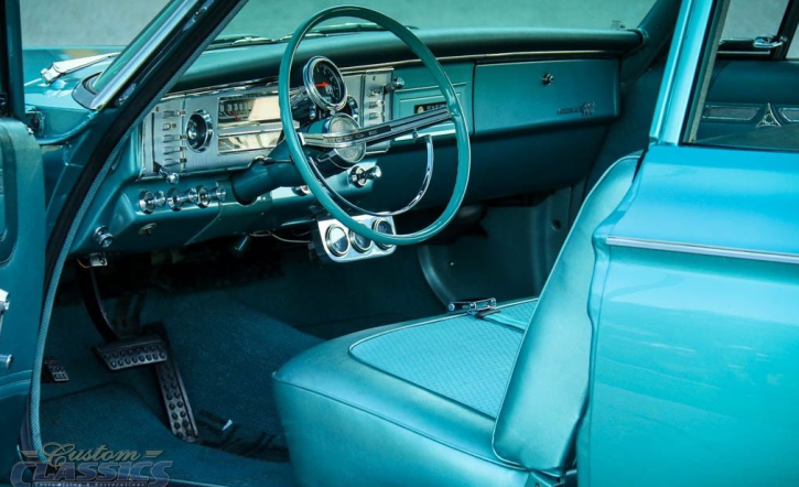 teal 1964 dodge 426 street wedge