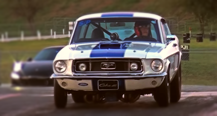 cobra jet 1968 ford mustang drag racing