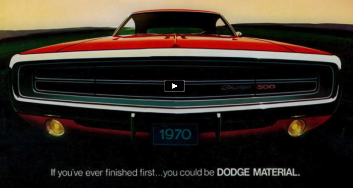 second generation dodge chargers history