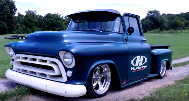 1957 chevy custom truck