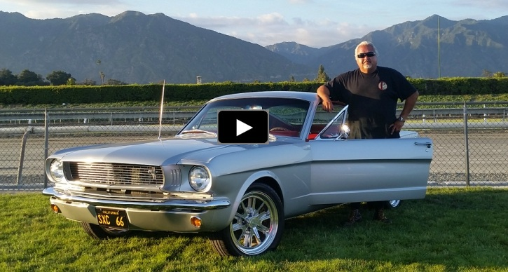 1966 ford mustang fastback restoration