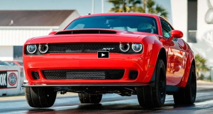 2018 dodge demon srt specs