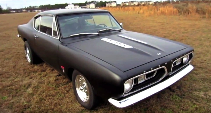 1967 plymouth barracuda formula s build