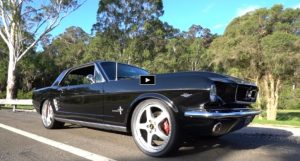 custom 1966 ford mustang 66 risk