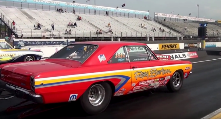 jim daniels dodge dart drag racing