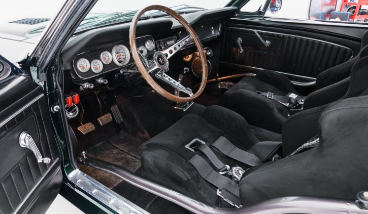 pro touring 1965 ford mustang