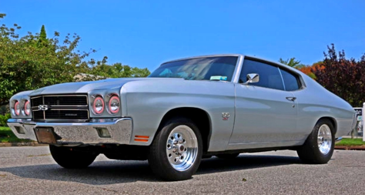 restored 1970 chevy chevelle ss