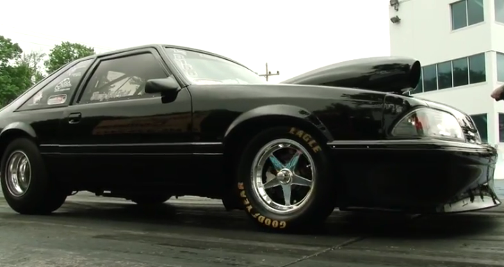 naturally aspirated big block ford mustang drag racing