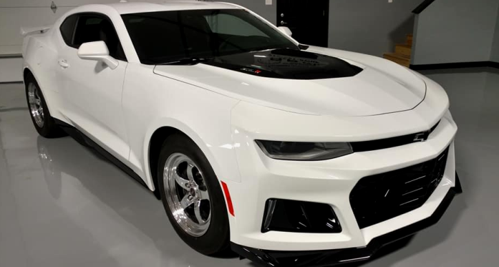 brand new chevrolet camaro zl1 new record