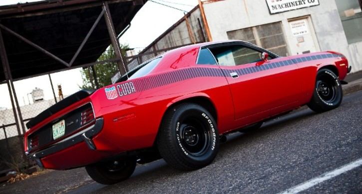 rally red 1970 plymouth aar cuda restoration