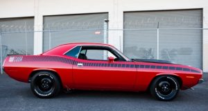 original rally red 1970 plymouth aar cuda