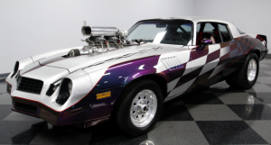 blown 1978 camaro pro street muscle car