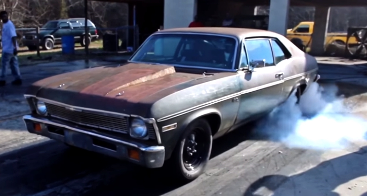 twin turbo chevy nova sleeper