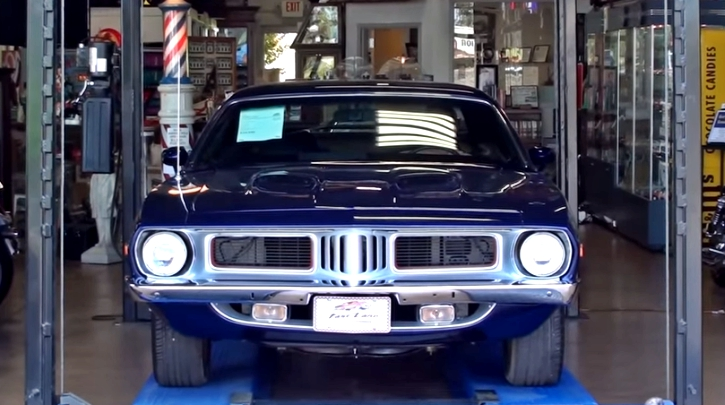 test driving 1972 Plymouth Cuda 440