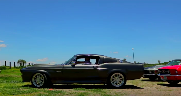 1968 ford mustang eleanor video