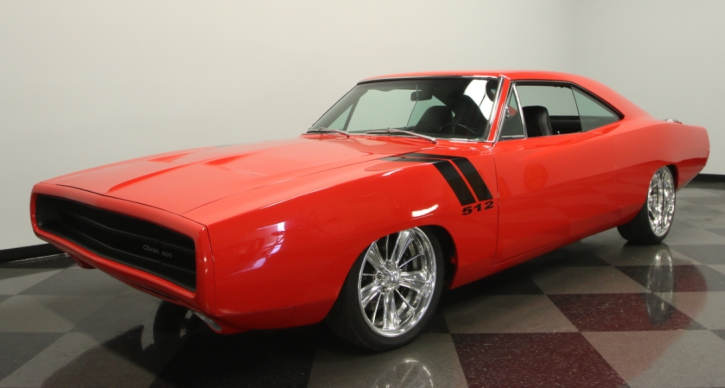 1970 dodge charger restomod