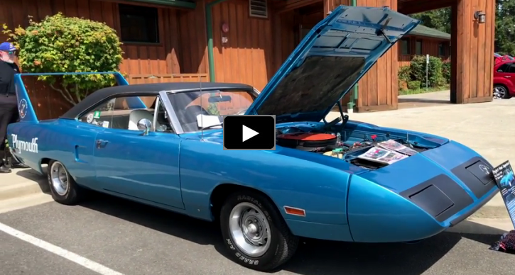 1970 plymouth superbird 426 hemi 4-speed