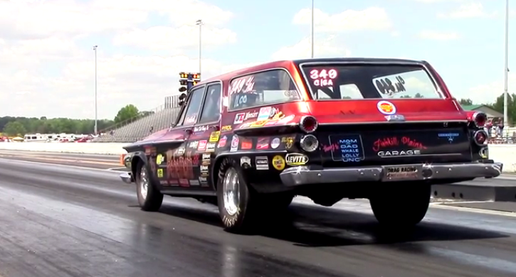 naturally aspirated plymouth belvedere drag racing