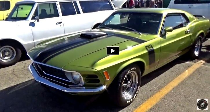 1970 mustang boss 302 numbers matching powertrain