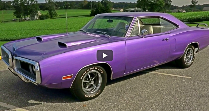 true plum crazy 1970 dodge super bee 4-speed