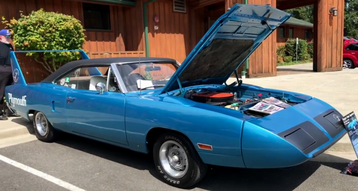 original 1970 plymouth superbird 426 hemi