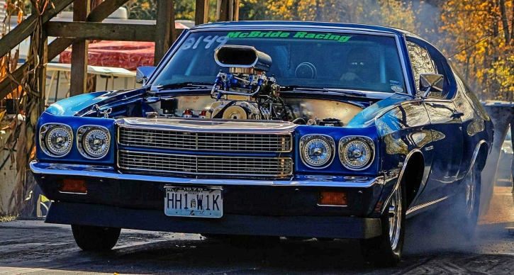 blown 1970 chevy chevelle build