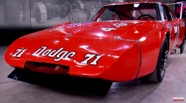 dodge charger daytona 71 race car