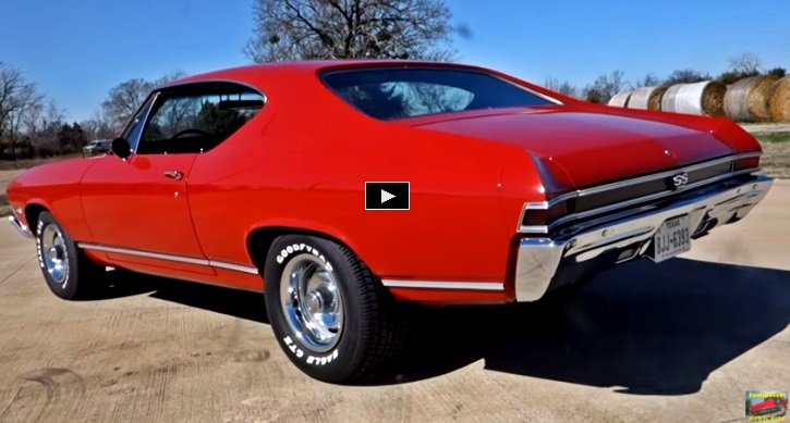 Clean 1968 Chevy Chevelle SS 396 Flexing Muscle | HOT CARS