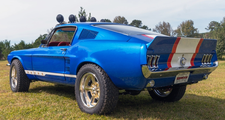 off road 1967 mustang fastback rowdy