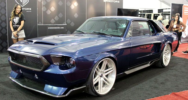 custom 1967 mustang coupe hydra concept