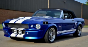 custom built 1967 mustang shelby gt500