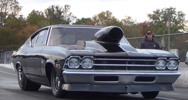 7 second chevrolet chevelle drag racing