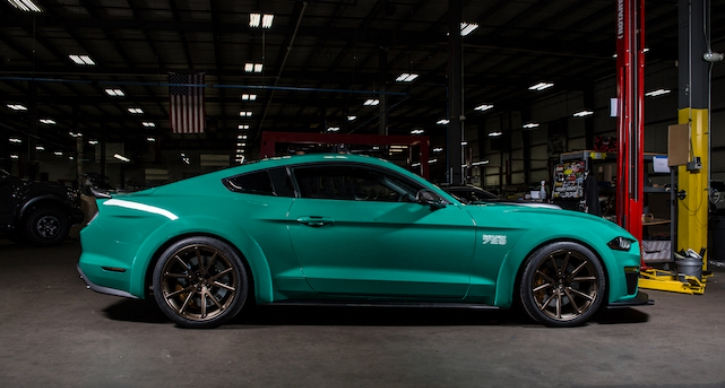 2018 roush performance mustang sema