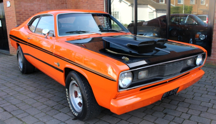 1972 plymouth duster 360 automatic