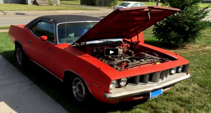 rare 1971 plymouth barracuda survivor