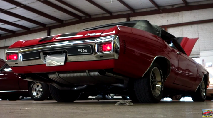 ls6 optioned 1970 chevelle convertible