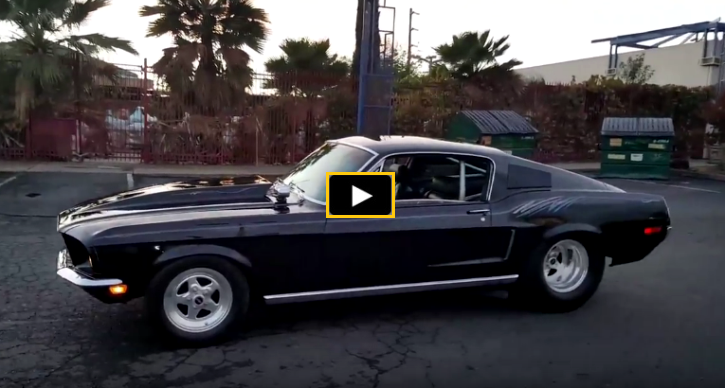 427 powered 1968 ford mustang