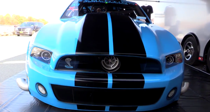 devil's reject shelby gt500 drag racing