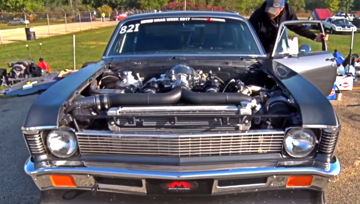 lt4 powered chevy nova drag week