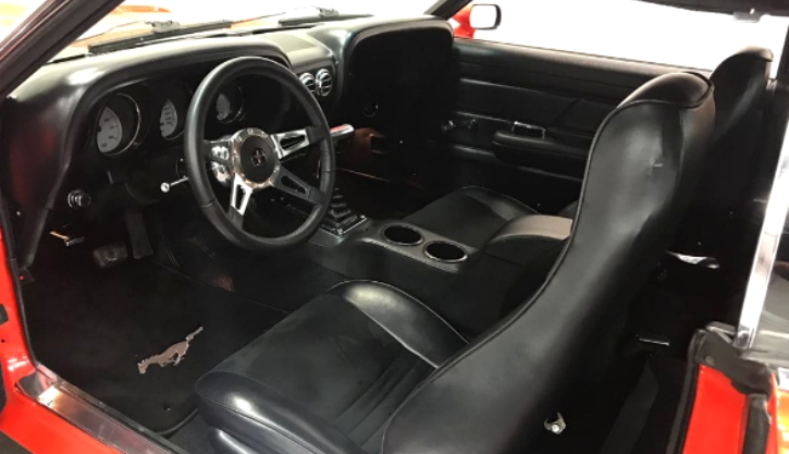 1970 mustang coupe 351 cleveland automatic