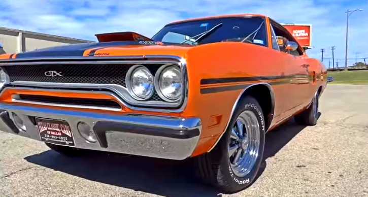 1970 Plymouth GTX 440 six pack